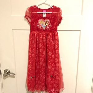 Size Small Disney Princess Nightgown